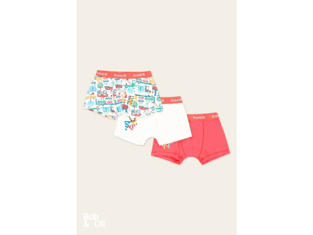 pack 3 boxers for boy organic (2)