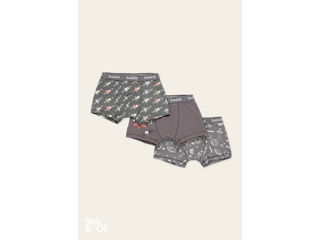 pack 3 boxers for boy organic (3)