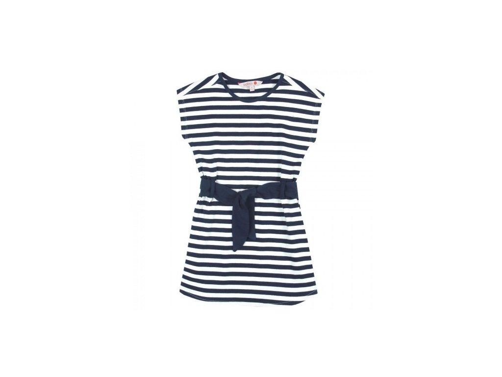 Dívčí šaty s pruhy BOBOLI