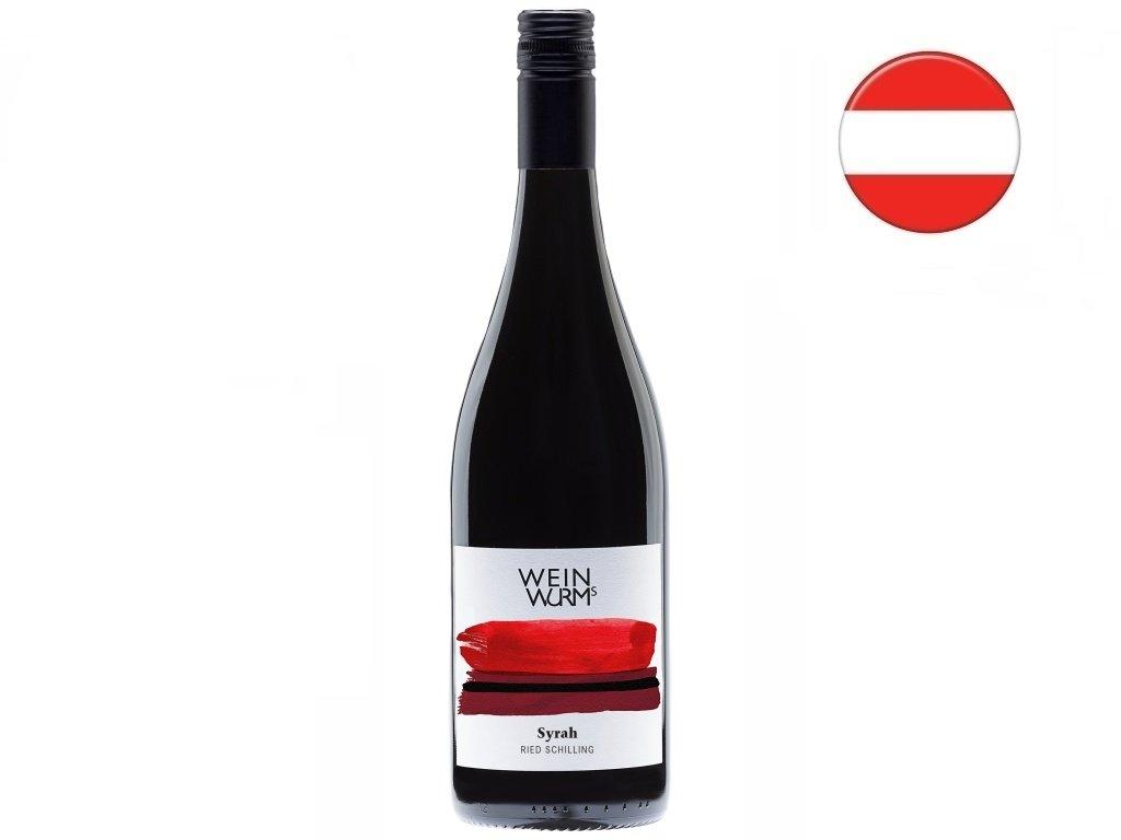 Syrah 2019, WeinWurm