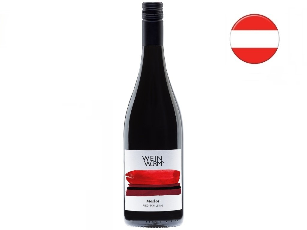 Merlot 2019, WeinWurmmerlot