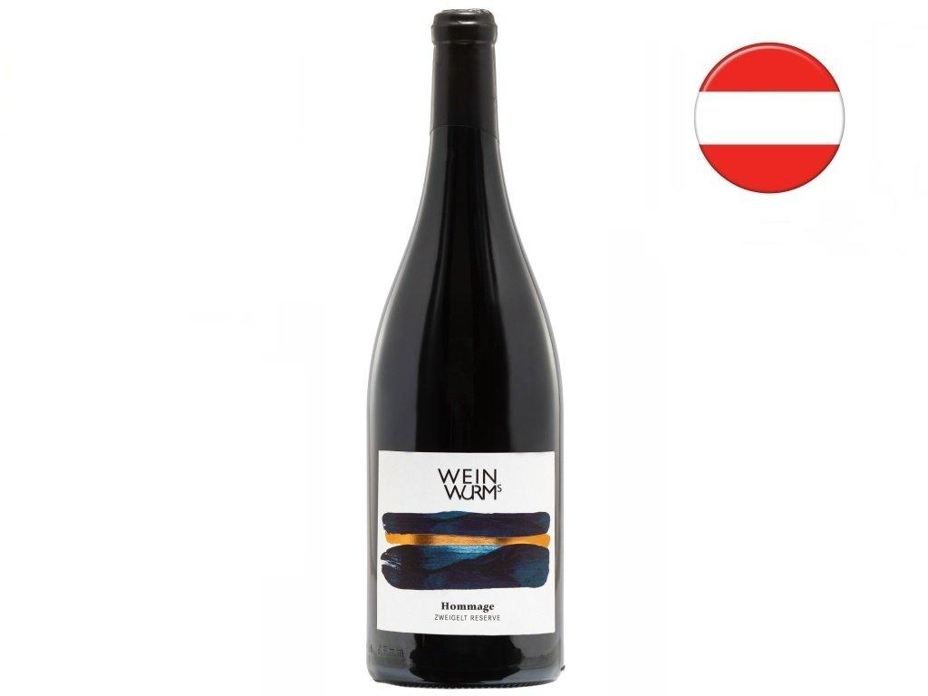 Zweigelt Reserve Hommage 2018, WeinWurm