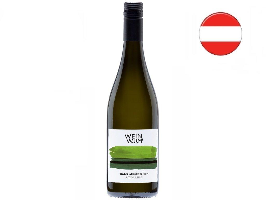 Muškát červený 2020, WeinWurm
