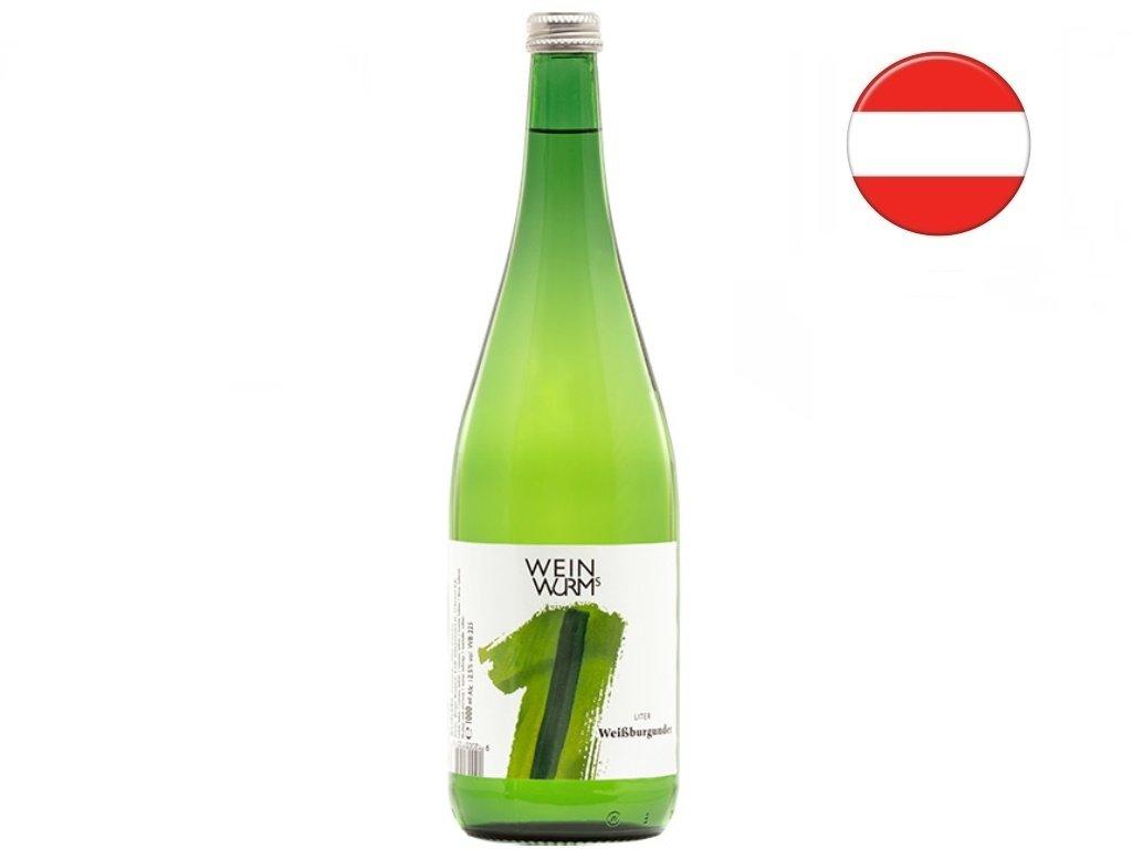 Rulandské bílé 1l, WeinWurm