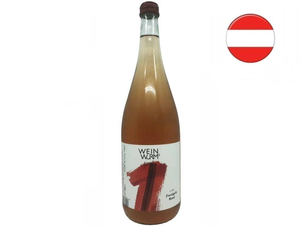 Zweigelt Rosé 1l, WeinWurm