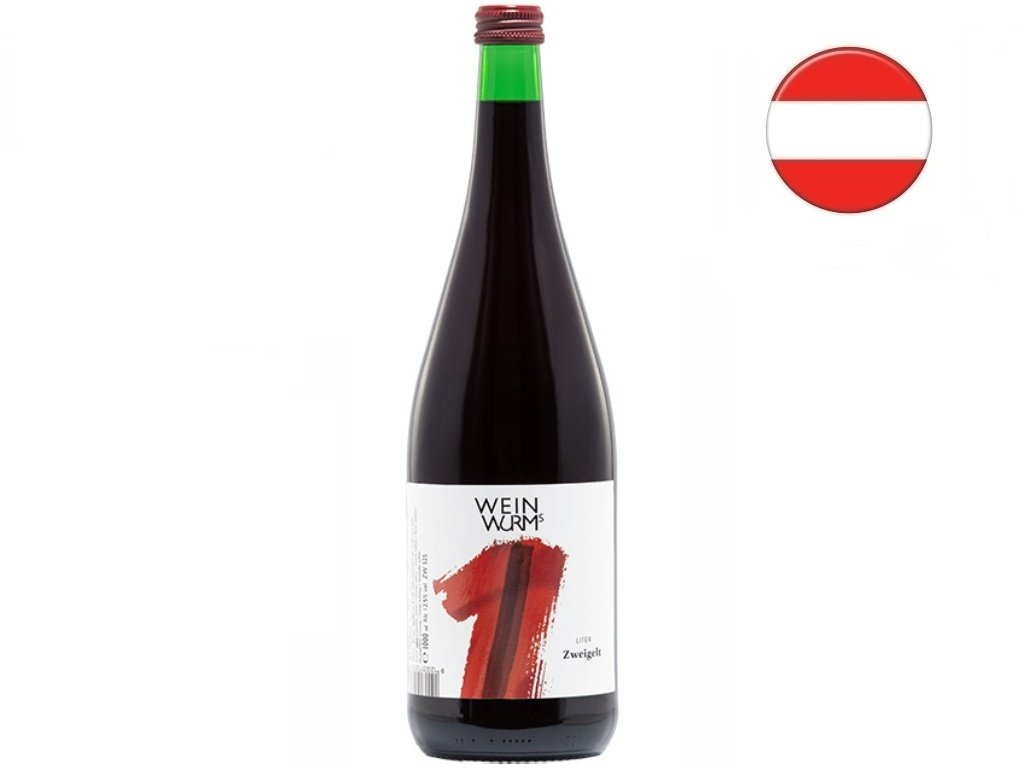 Zweigelt 1l, WeinWurm