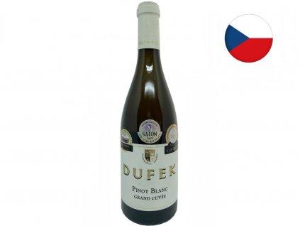 Grand Cuvée Pinot Blanc 2015/2016, Josef Dufek detailpinot dufek