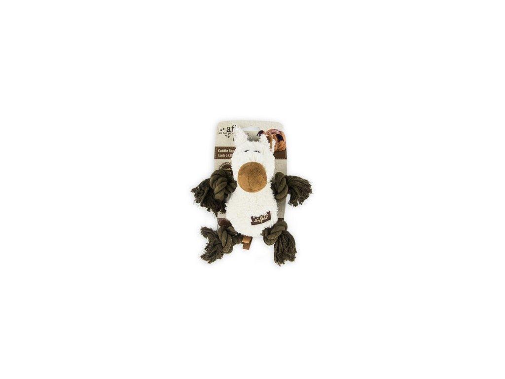 Plyšové provazové zvířátko AFP Lamb s pískátkem