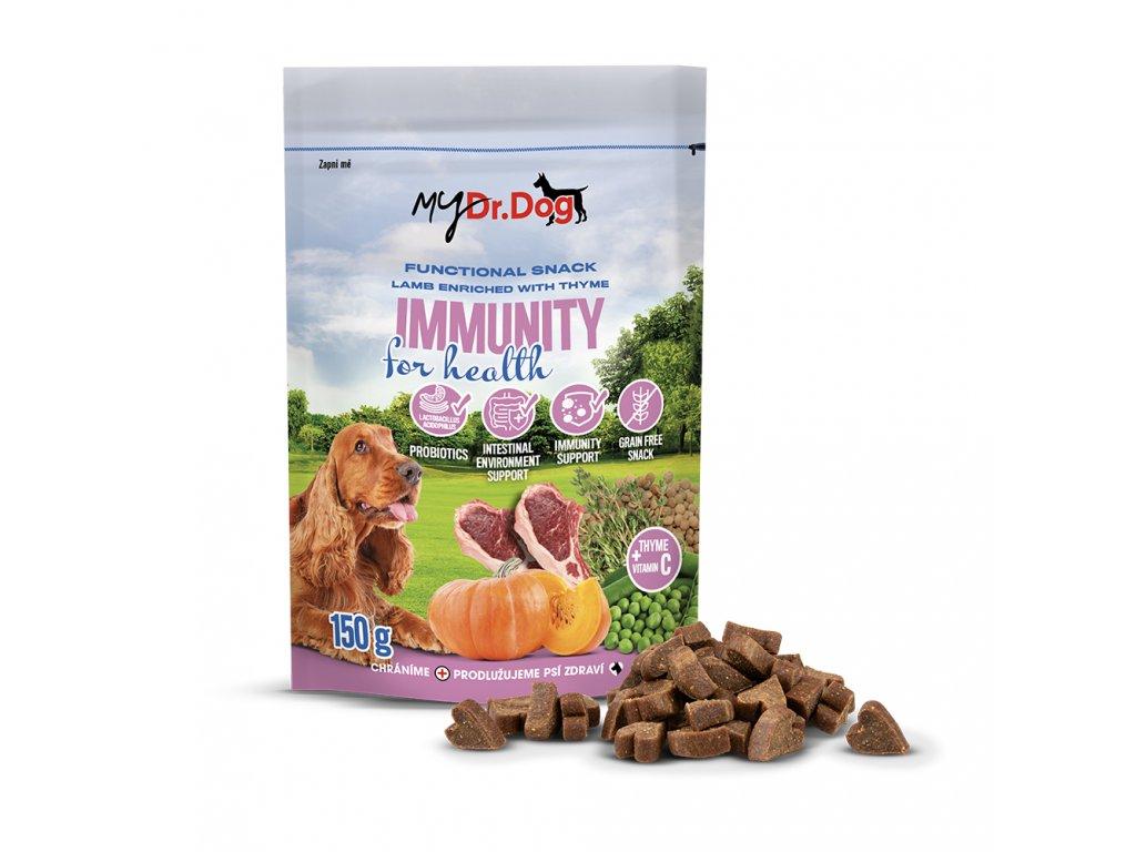 mydrdog pamlsky immunity s produktem