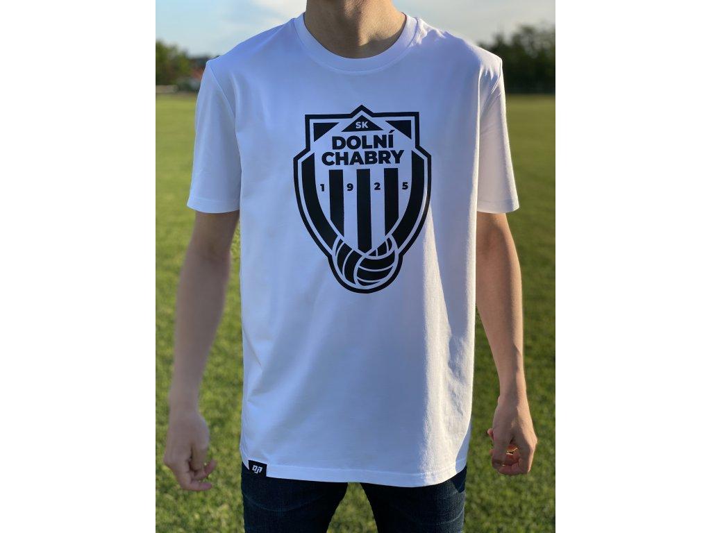 Pánské tričko bíločerné SK Dolní Chabry