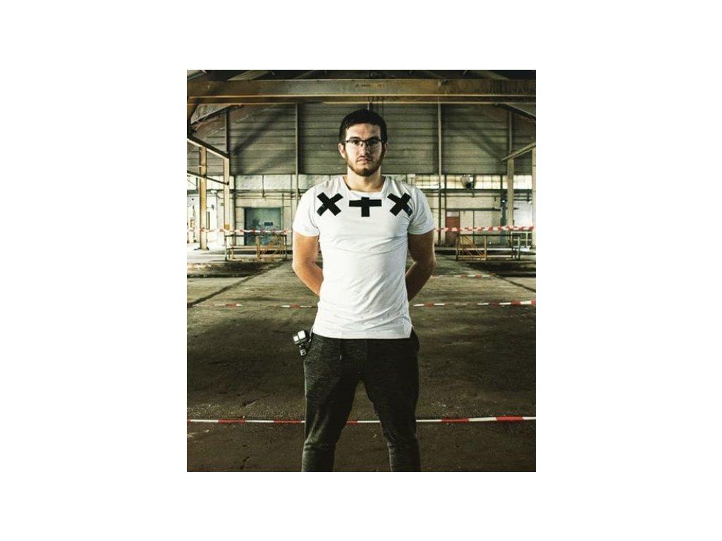 Pánské tričko SAKU shortsleeve - white