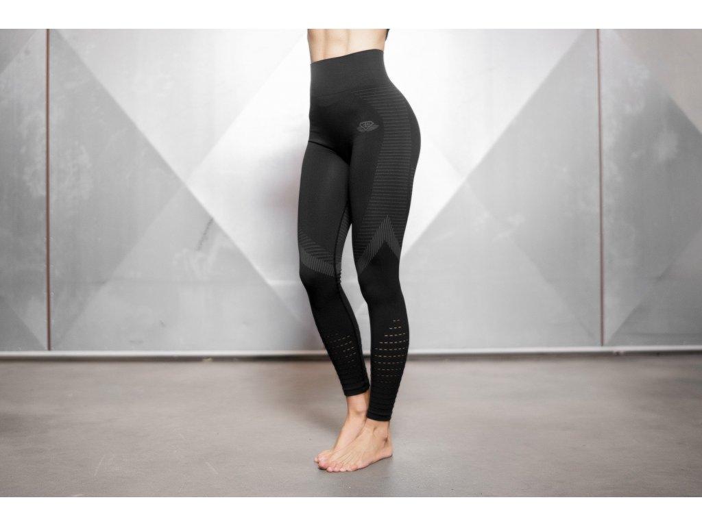 freya black grey legging front