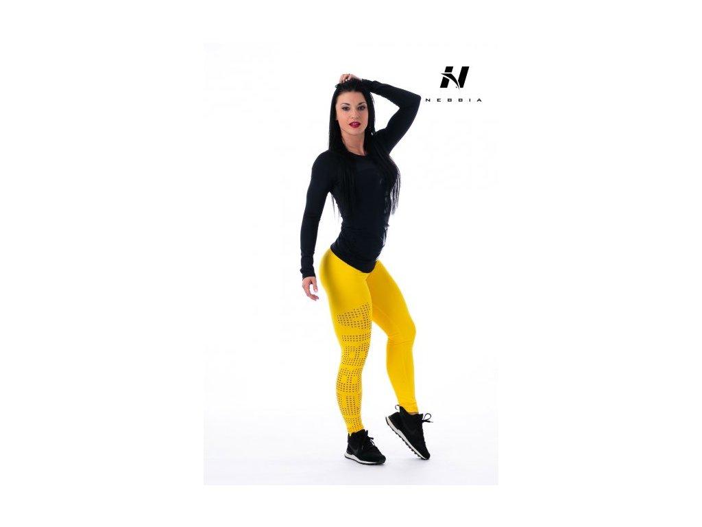 Dámské legíny 211- yellow