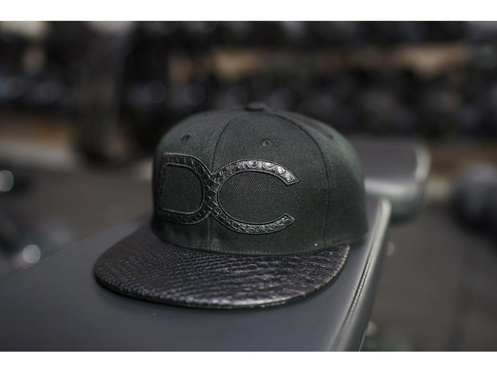 DC Snapback kšiltovka - BLACK REPTILE