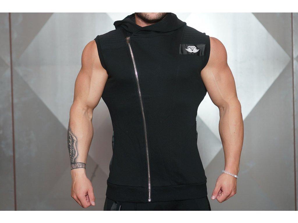 Pánská vesta YUREI - black / black