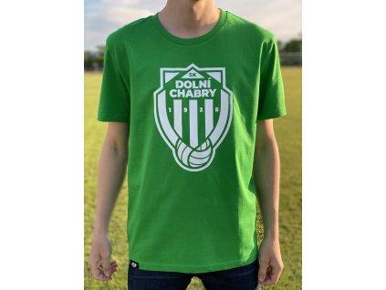 Pánské tričko zelenobílé SK Dolní Chabry
