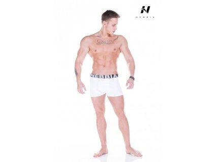 Pánské boxerky Nebbia 101 - white