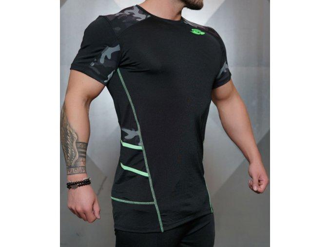 body engineers RENZO tricko cerna zelena 1 body style cz