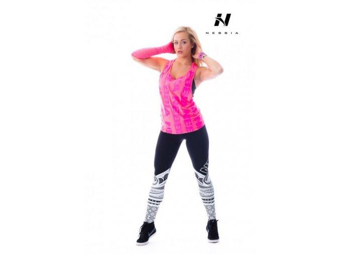 Nebbia Tílko Neon 226 Rúžová