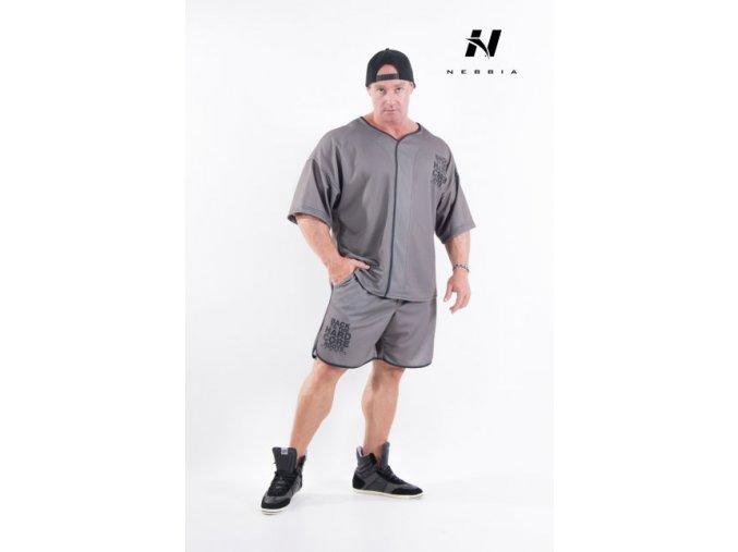 HardCore Fitness Šortky 302 Khaki