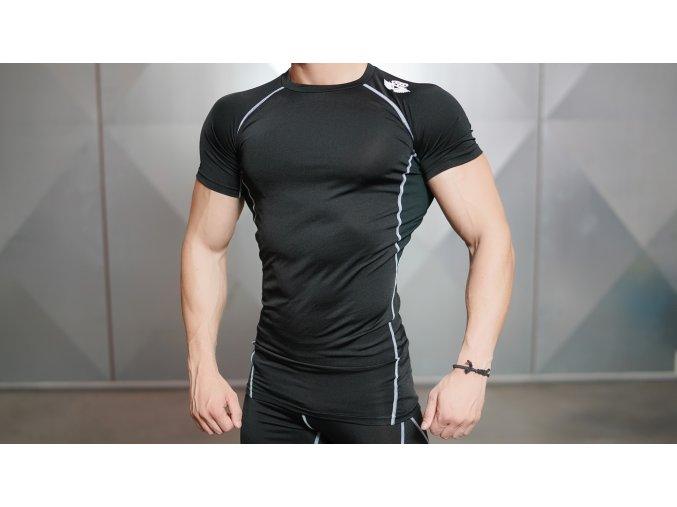 VENTUS Short sleeve Top – Black