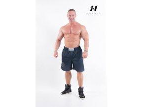 HardCore Fitness Šortky 302 Černá
