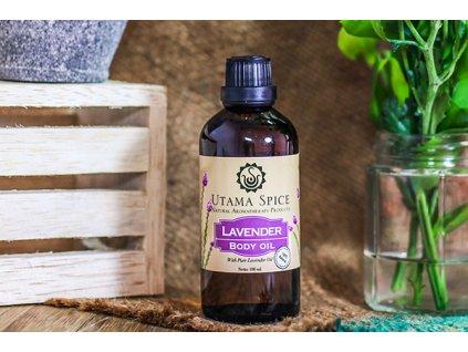 body oil lavender 100ml 3