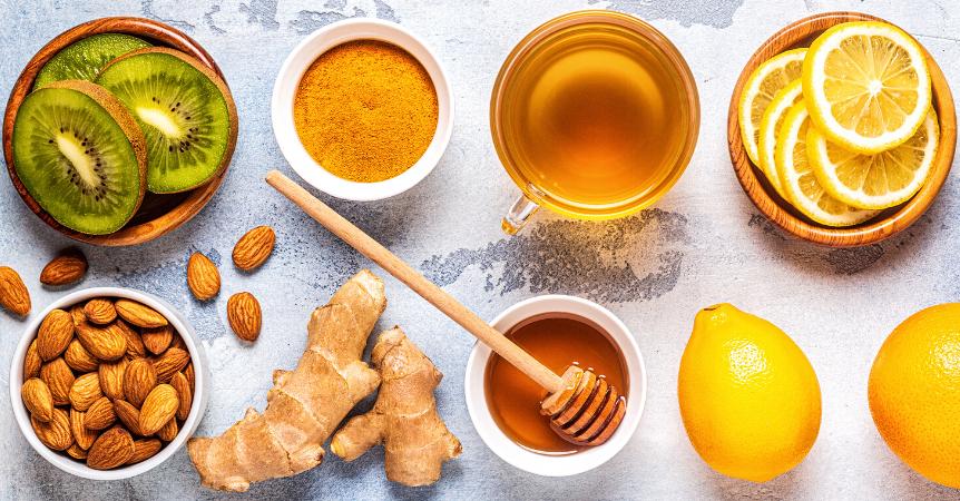 Jaké potraviny jíst pro posílení imunity?