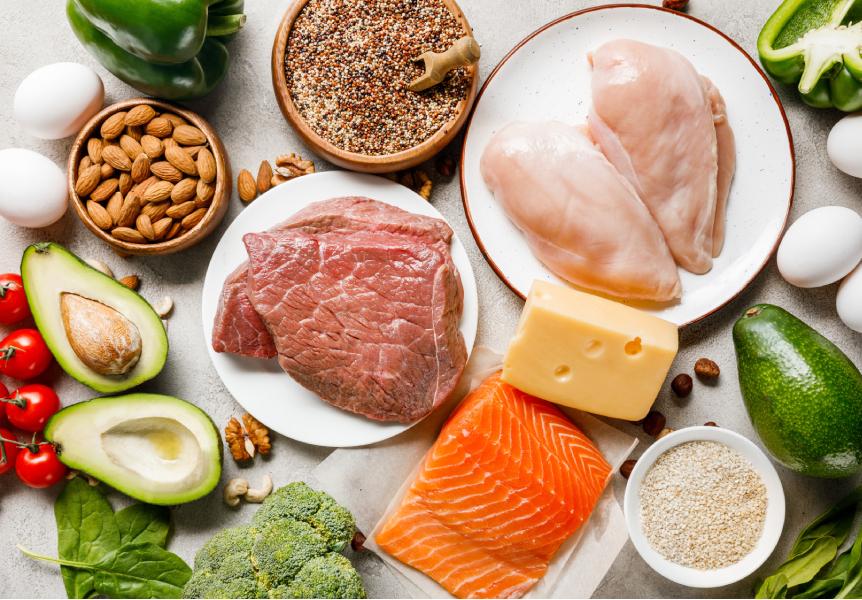 Proteiny v potravinách