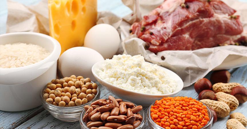 Potraviny pro růst svalů