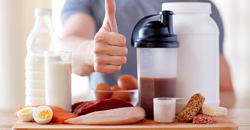 Protein vs kreatin