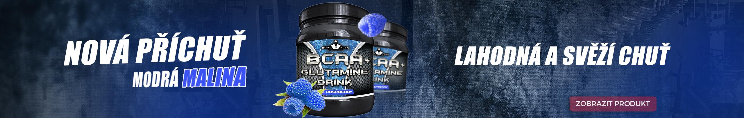BCAA + Glutamine Drink Blue Raspberry
