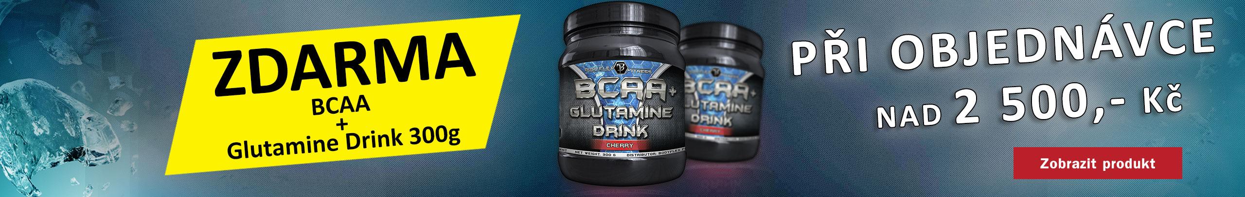 BCAA+Glutamine Drink ZDARMA
