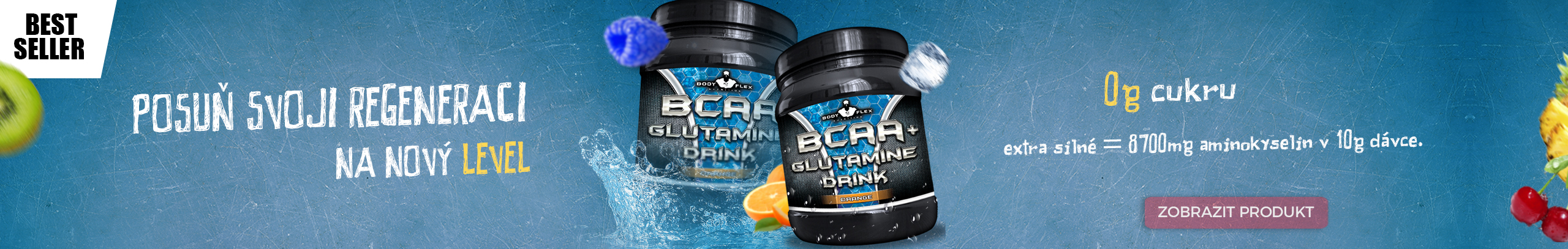 BODYFLEX Nutrition BCAA+Glutamine Drink