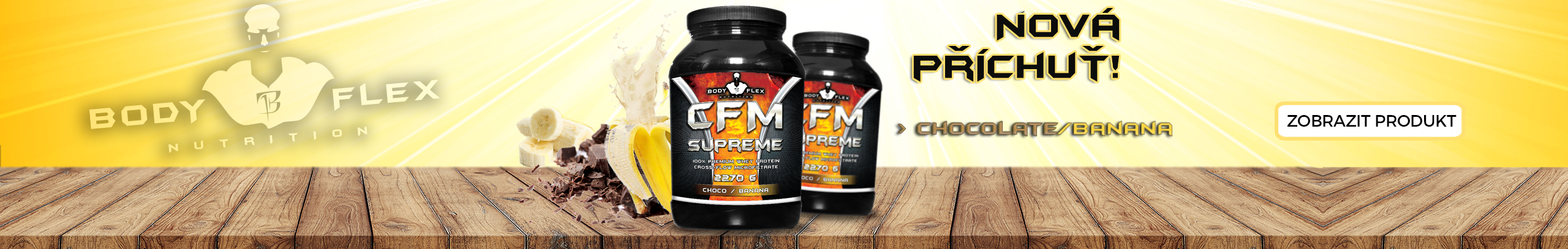 CFM Supreme 2270g banán/čoko