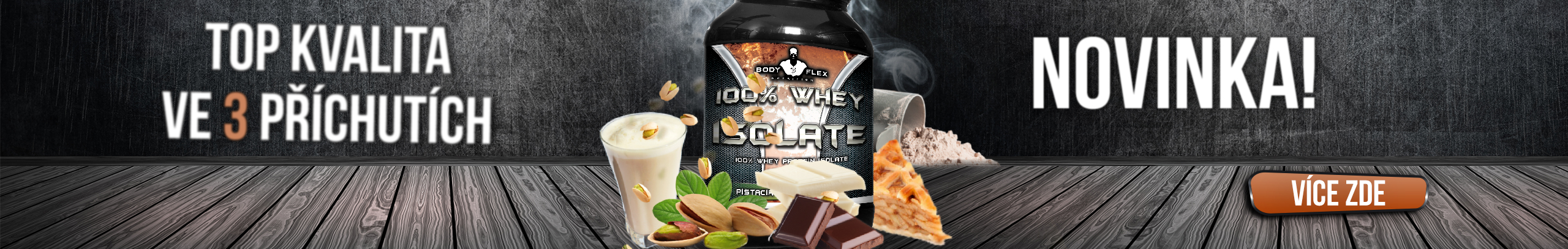 BODYFLEX 100% Whey Isolate