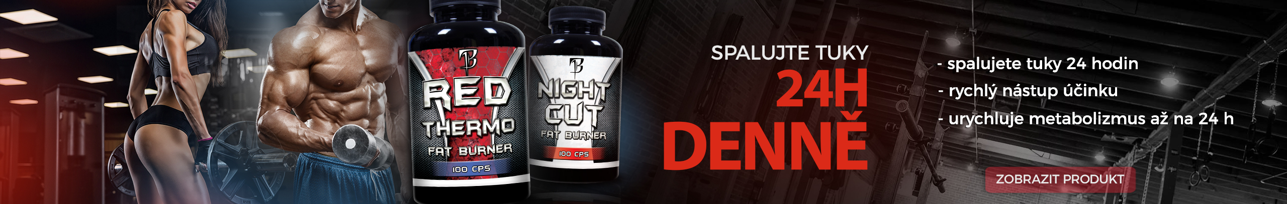 RED Thermo + Night Cut od BODYFLEX Nutrition