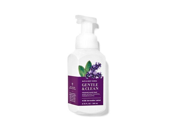 Pěnové mýdlo Wild Lavender Mint (259 ml)