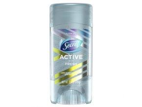 Secret Active Clear Gel Antiperspirant and Deodorant Fresh Scent