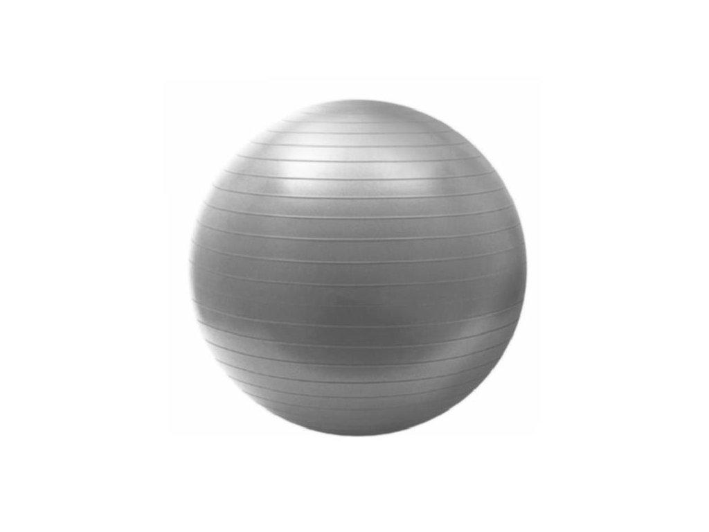 Gymnastický míč HMS YB02 75 cm šedo-stříbrný