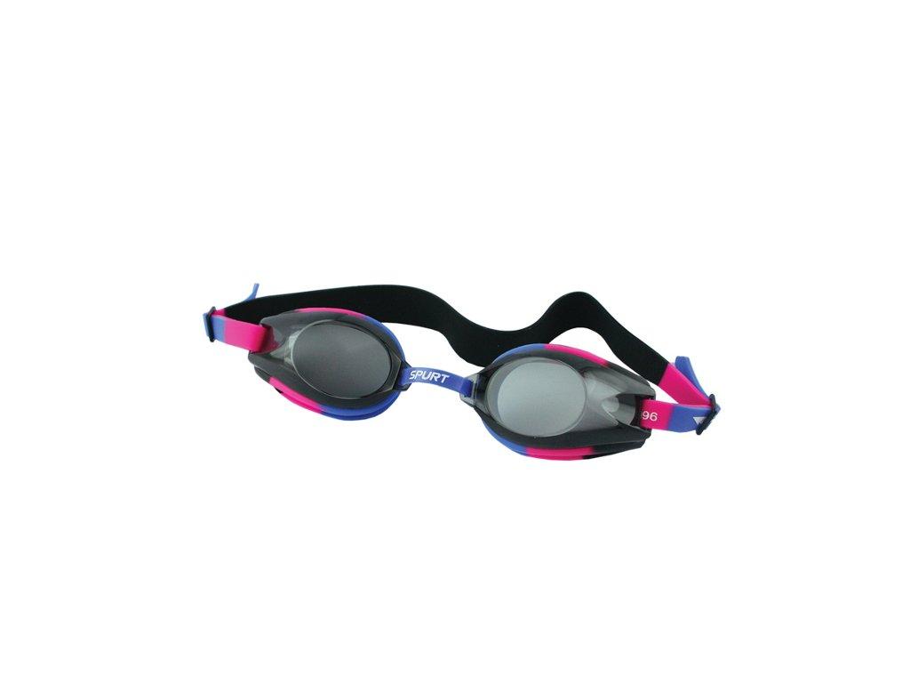 Plavecké okuliare SPURT 1200 AF 41 modro-ružové