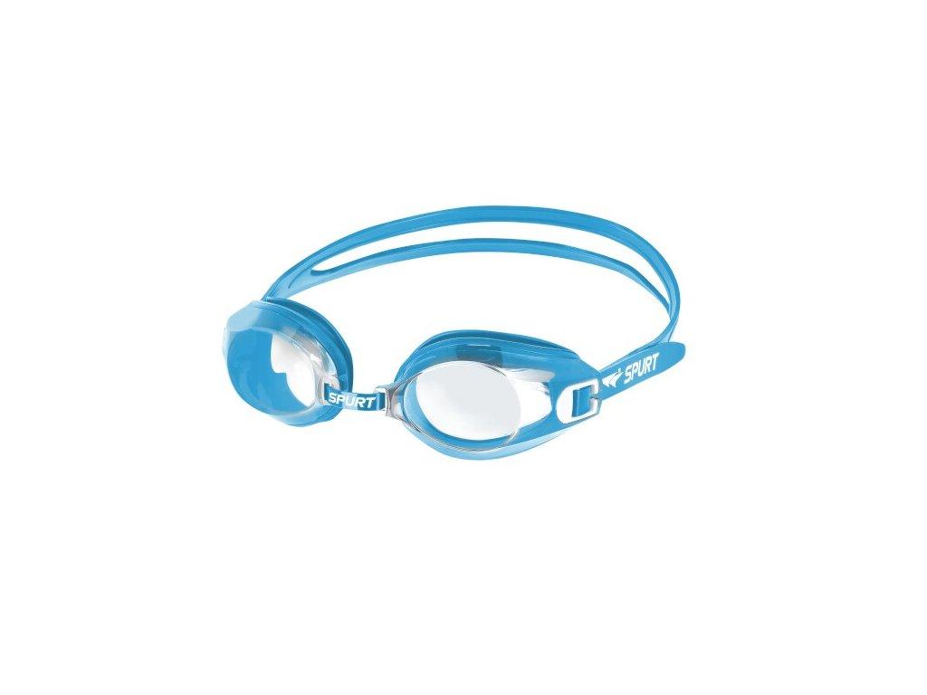 Plavecké brýle SPURT A-1 AF 04, světlemodré