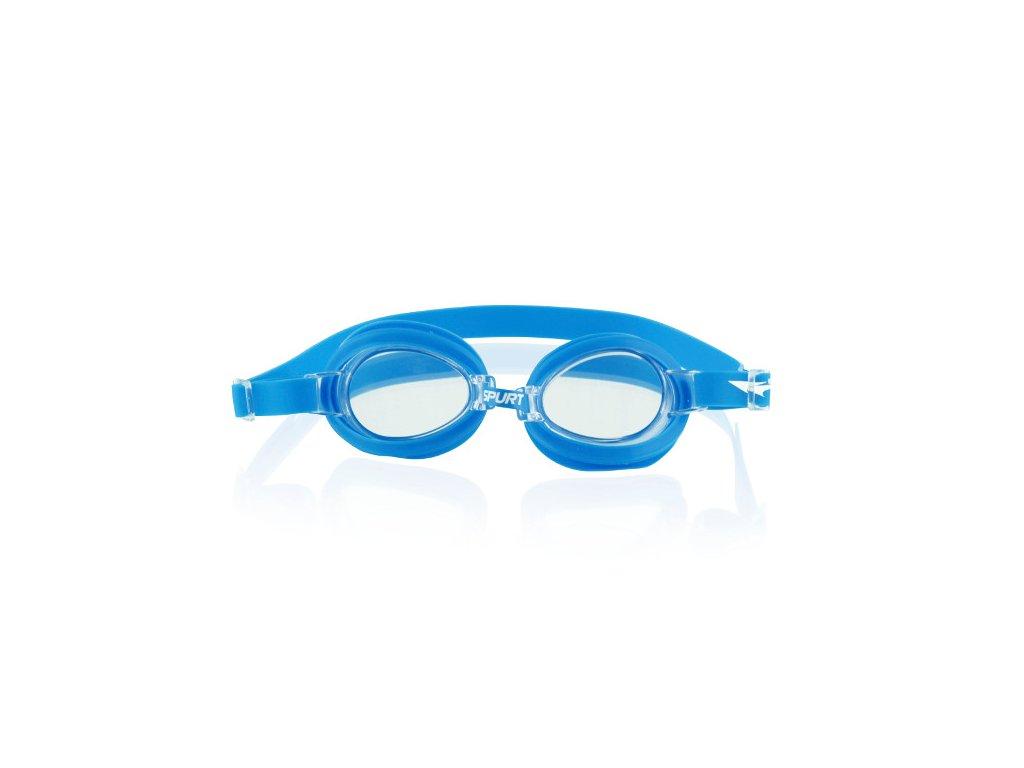 Plavecké okuliare SPURT 1100 AF 13 svetlo-modré
