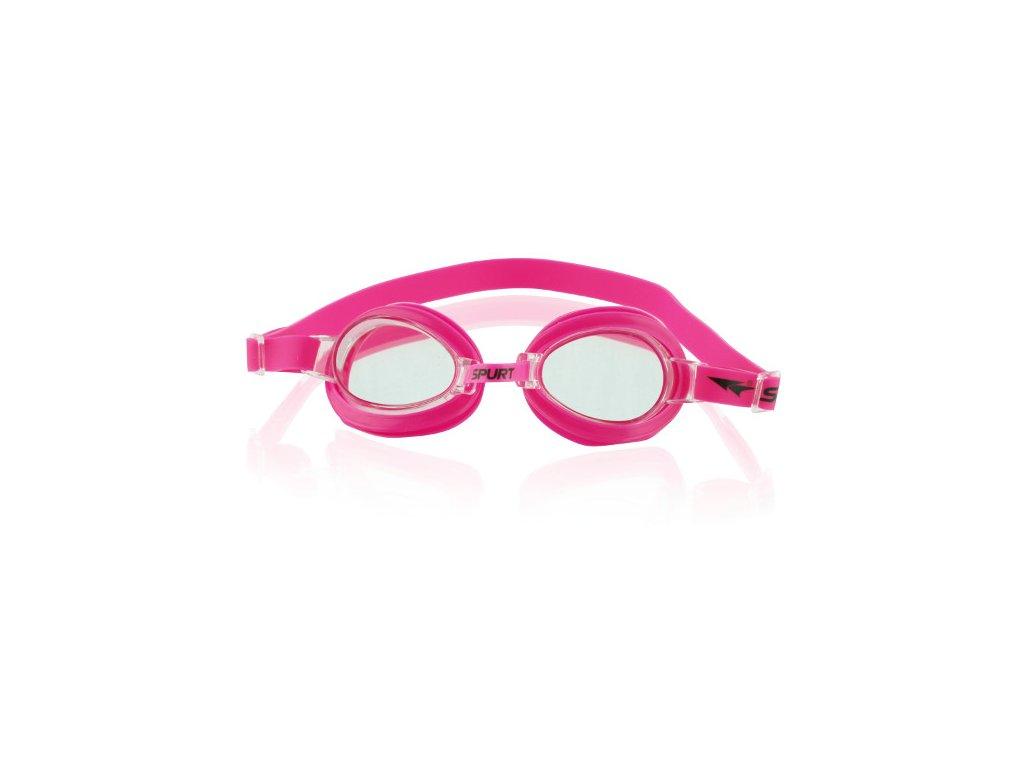 Plavecké okuliare SPURT 1100 AF 14 ružové