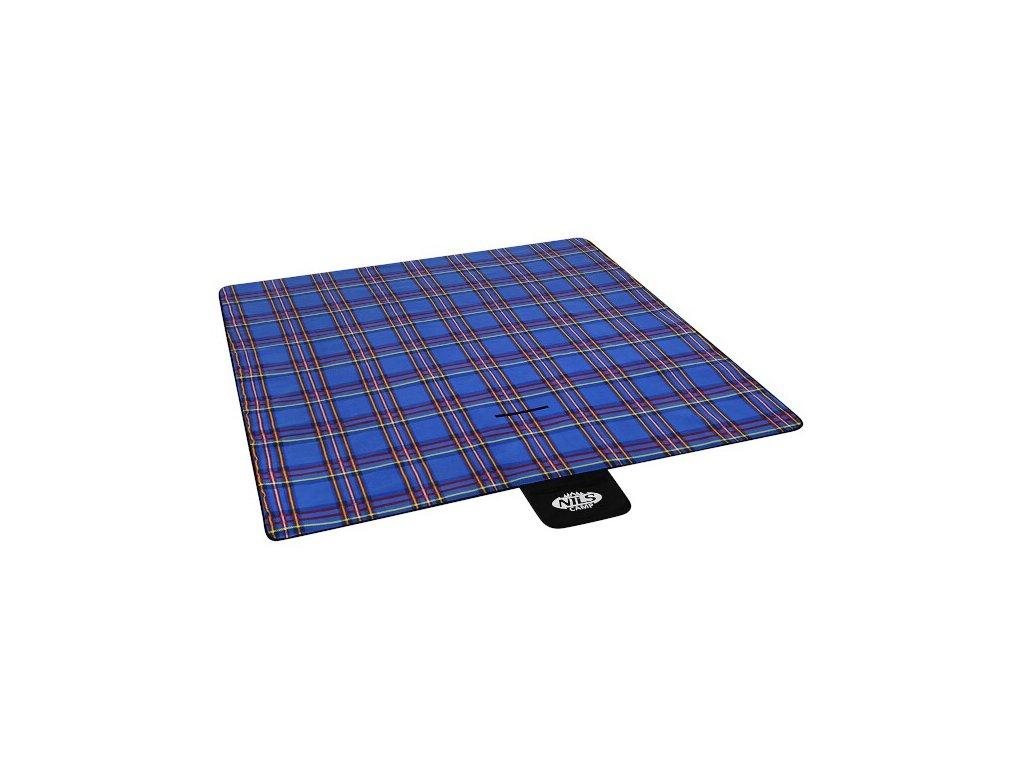 Piknik deka NILS CAMP NC2220 modrá