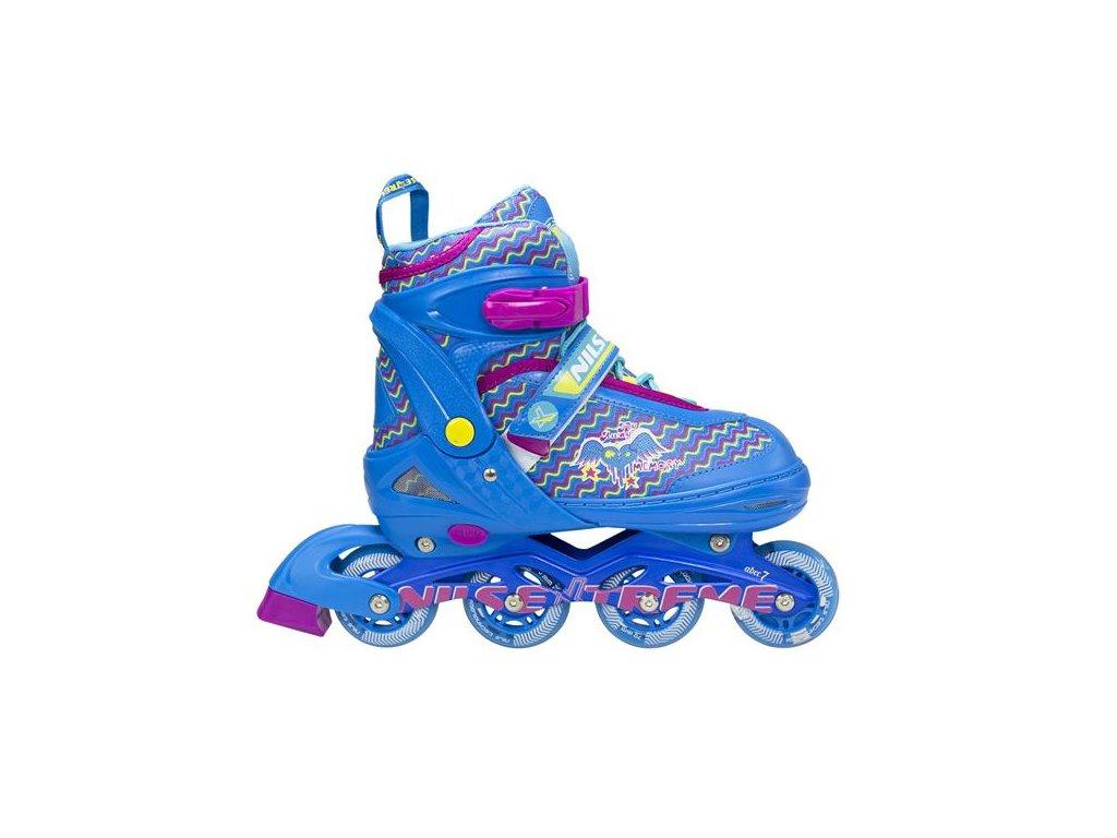 Detské kolieskové korčule NILS EXTREME NJ 4613 A blue