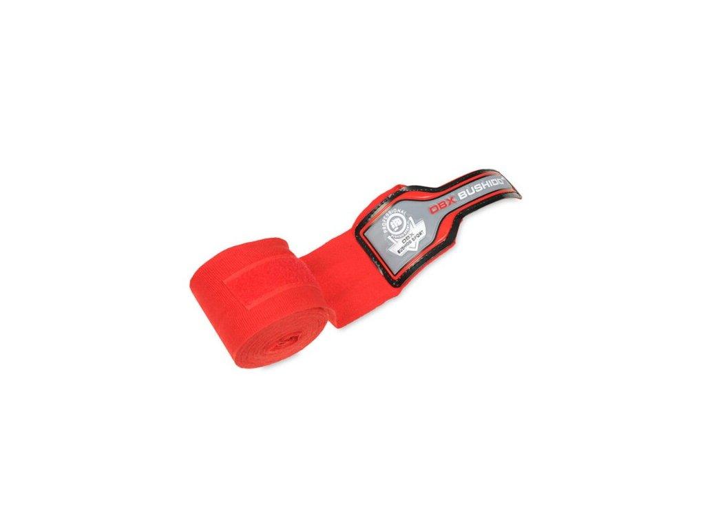 Boxerská omotávka DBX BUSHIDO PRO červená