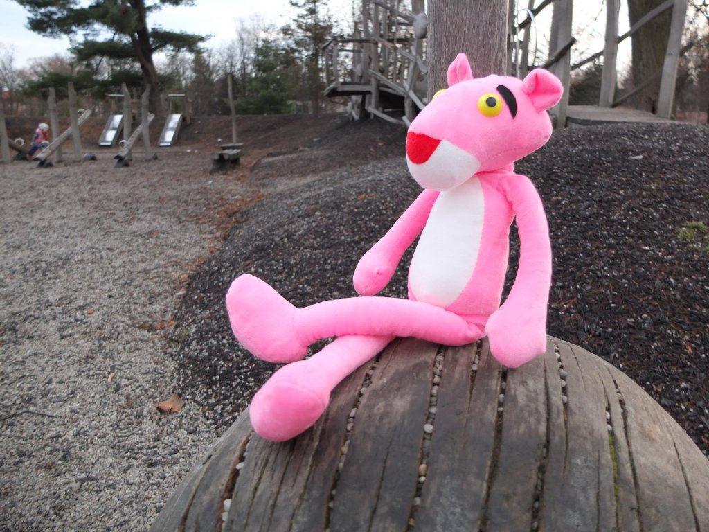 Plyšák Růžový panter / The Pink Panther hračka postavička figurka