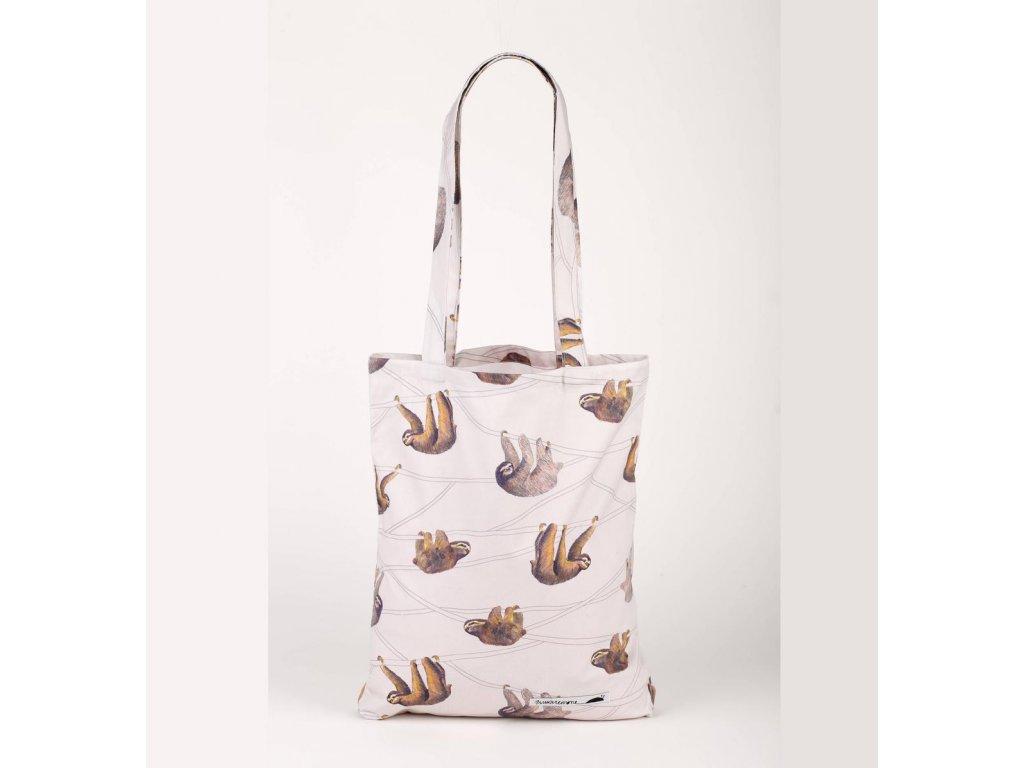 Bavlněná nákupní taška, Lenochod / ANNANEMONE