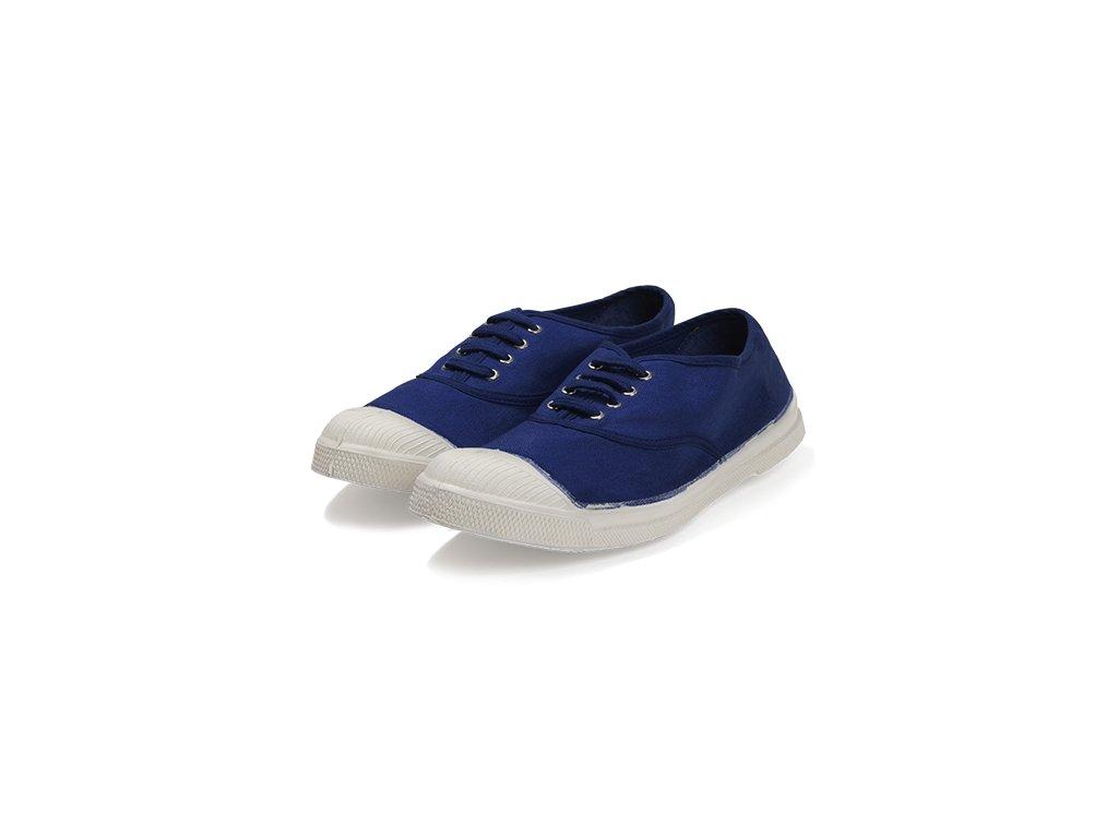 Tenisky Tennis Lacets BENSIMON / zářivá modrá / unisex, ženy, muži / boty obuv